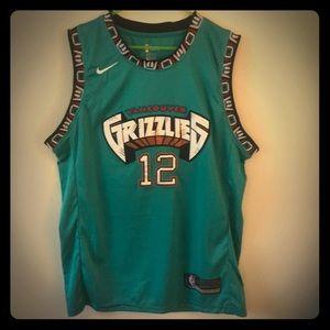 🔥🐻Nike Vancouver Grizzlies #12 Morant🐻🔥